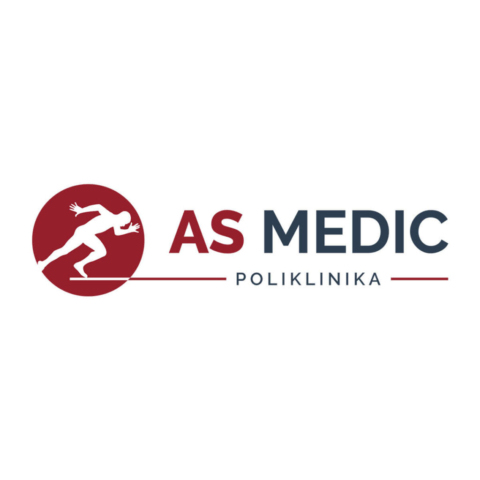 Redesign logoa za polikliniku AS Medic