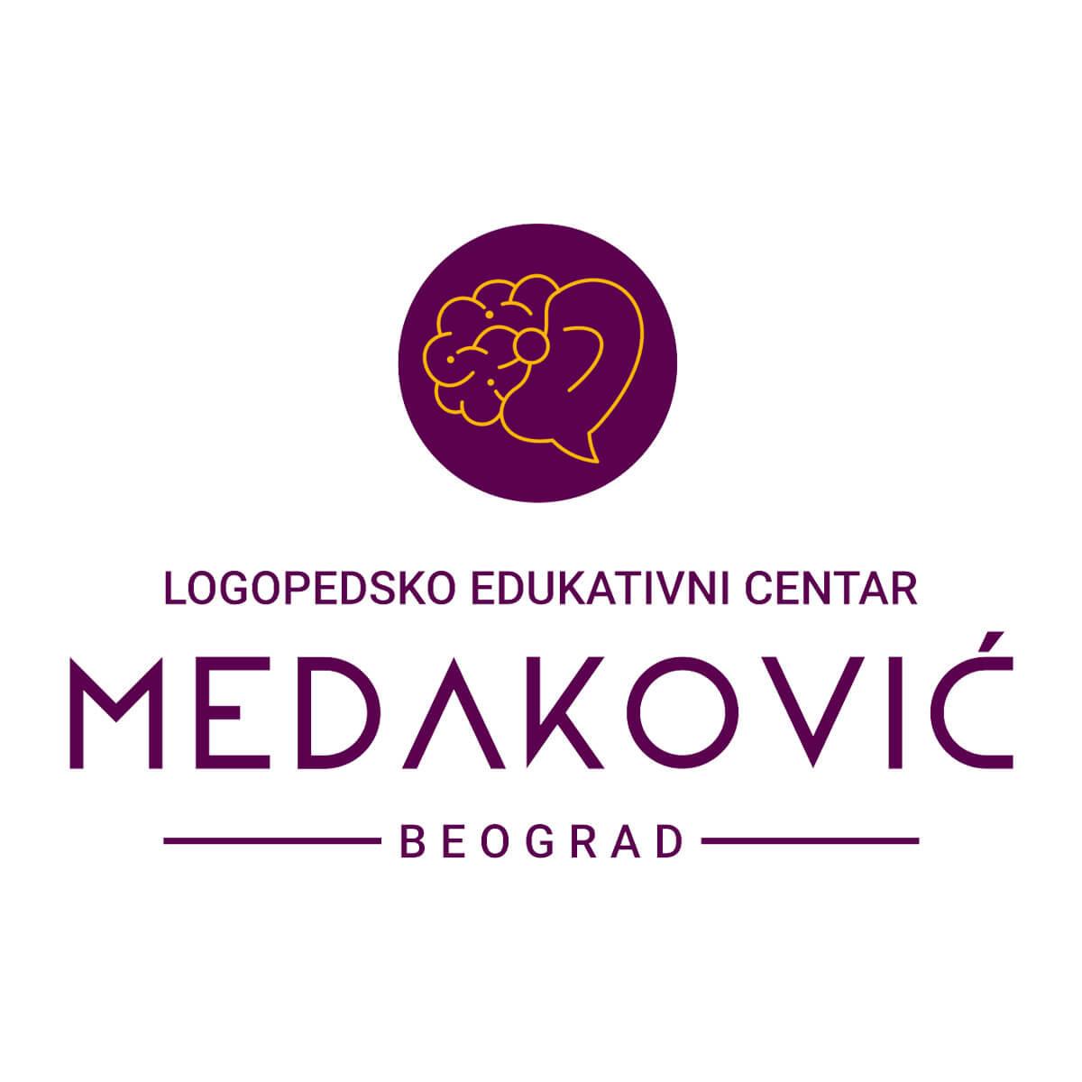 logo za logopedsko edukativni centar medaković