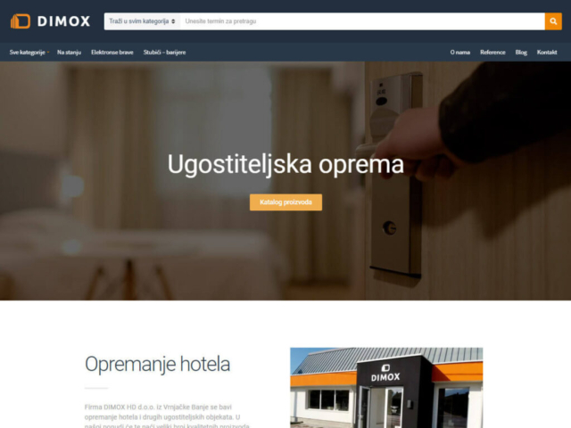 Web design za Dimox